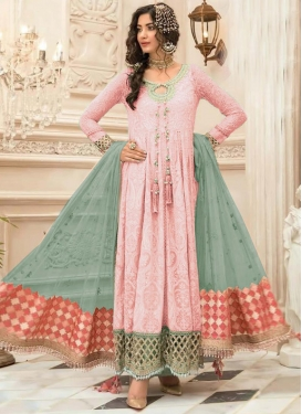 Faux Georgette Long Length Salwar Kameez