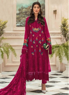 Faux Georgette Long Length Salwar Suit