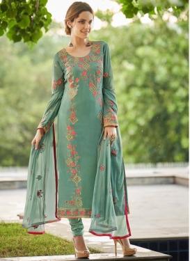 Faux Georgette Pakistani Salwar Kameez
