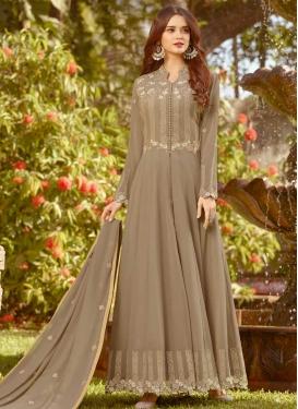 Faux Georgette Trendy Designer Salwar Kameez