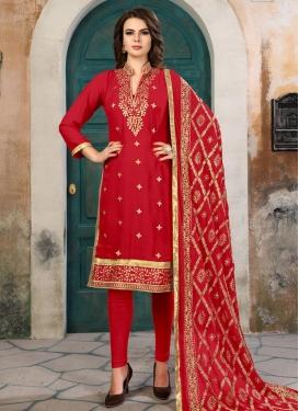 Faux Georgette Trendy Salwar Kameez For Ceremonial