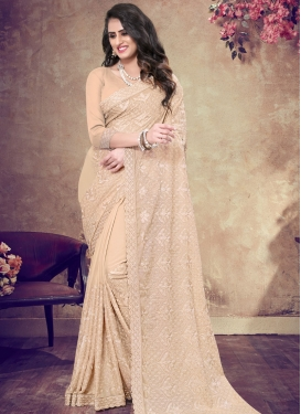 Faux Georgette Trendy Saree