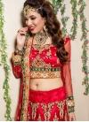 Fetching Net Wedding Designer Lehenga Choli - 1