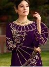 Fine Embroidered Pant Style Suit - 1