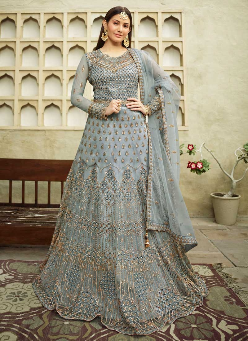 Floor Length Anarkali Salwar Suit