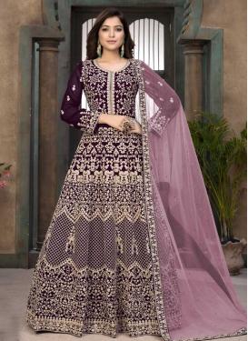 Floor Length Anarkali Salwar Suit For Ceremonial