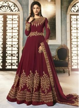 Floor Length Anarkali Salwar Suit For Party