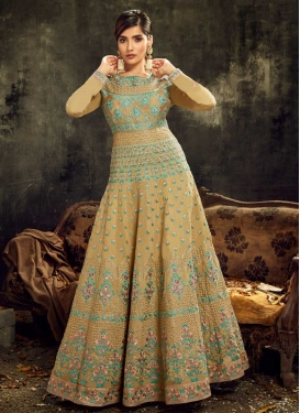 Floor Length Anarkali Salwar Suit For Party