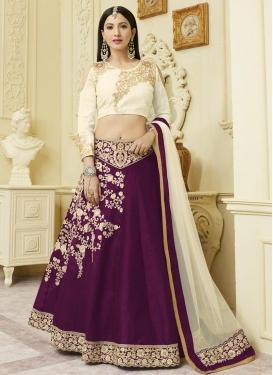 Gauhar Khan Art Silk Trendy Designer Lehenga Choli
