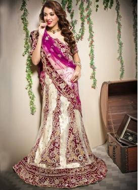 Gilded Cream Sangeet Designer Lehenga Choli