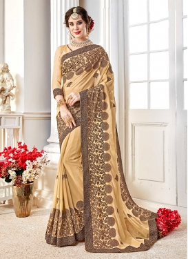 Gilded Saree For Party
