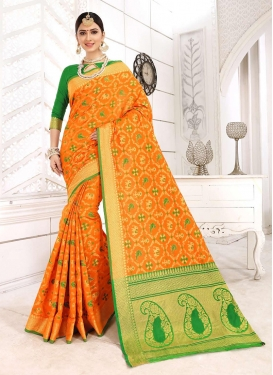 Glamorous Art Silk Traditional Designer Saree