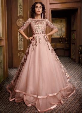Gota Patti Work Layered Designer Gown