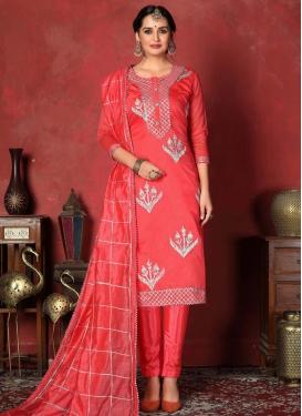 Gota Patti Work Pant Style Classic Salwar Suit