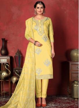 Gota Patti Work Pant Style Designer Salwar Kameez