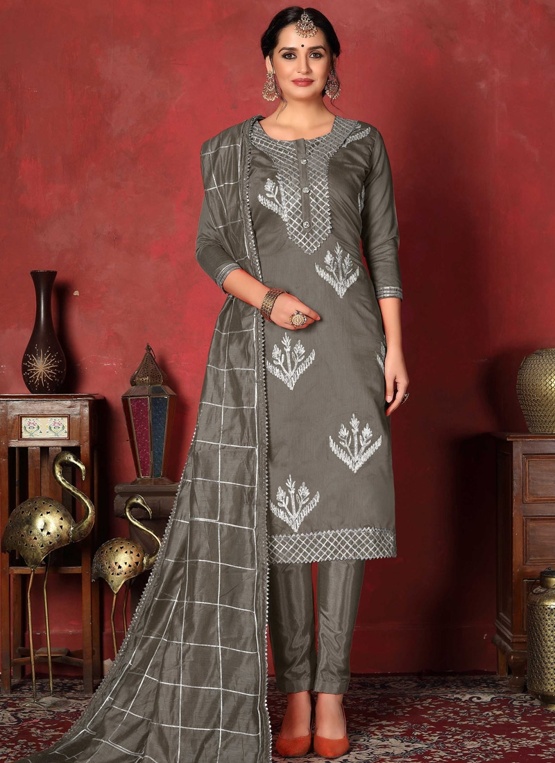 Gota Patti Work Pant Style Designer Salwar Suit