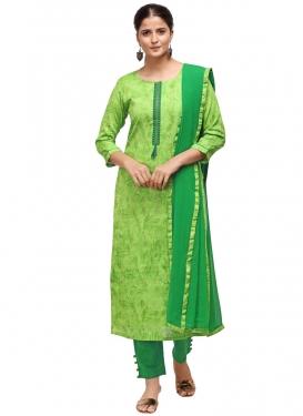Green and Mint Green Pant Style Pakistani Salwar Kameez