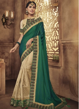 Half N Half Designer Saree For Party