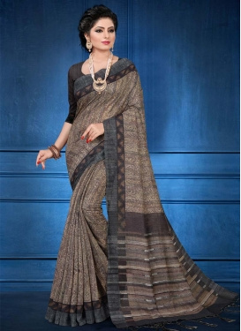 Handloom Silk Designer Contemporary Style Saree