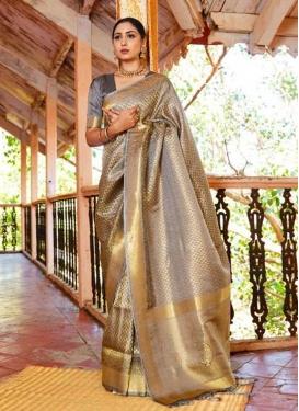 Handloom Silk Designer Contemporary Style Saree