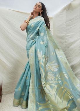 Handloom Silk Designer Traditional Saree