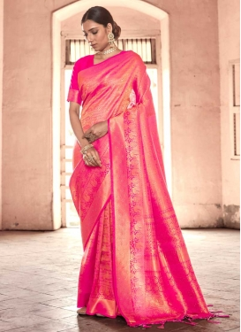 Handloom Silk Stone Work Designer Traditional Saree