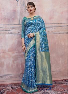 Handloom Silk Thread Work Trendy Classic Saree