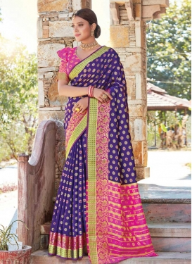 Handloom Silk Traditional Designer Saree For Ceremonial