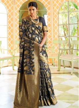 Handloom Silk Traditional Saree For Ceremonial