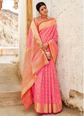 Handloom Silk Trendy Classic Saree For Ceremonial