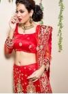 Heavenly Net Trendy Lehenga Choli - 1