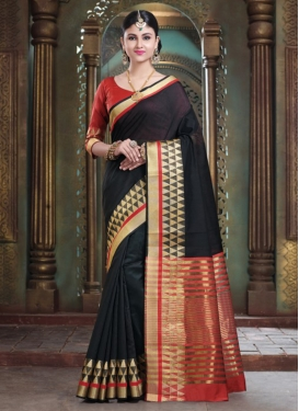 Impeccable Art Silk Designer Traditional Saree