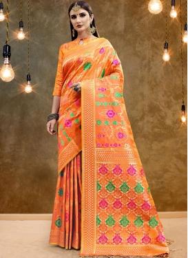 Imposing Classic Designer Saree For Party
