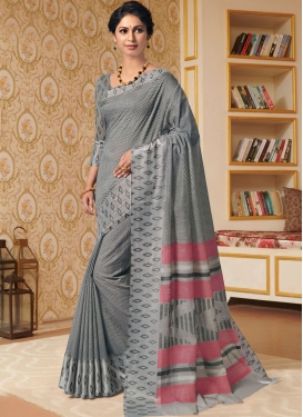 Intricate Linen Party Trendy Saree