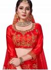 Intrinsic Red Trendy Lehenga Choli - 1