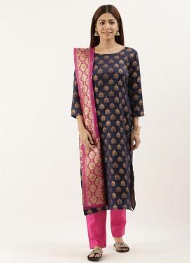 Jacquard Pant Style Classic Salwar Suit
