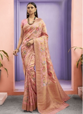 Jacquard Silk Designer Traditional Saree