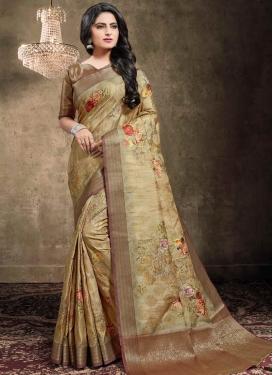 Jacquard Silk Designer Traditional Saree For Ceremonial