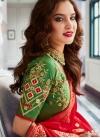 Jacquard Silk Lehenga Choli in Multi Colour - 1