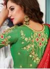 Jacquard Silk Lehenga Choli in Multi Colour - 2