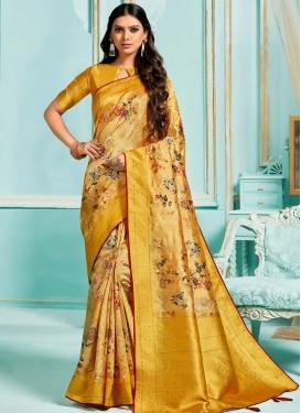 Jacquard Silk Traditional Designer Saree