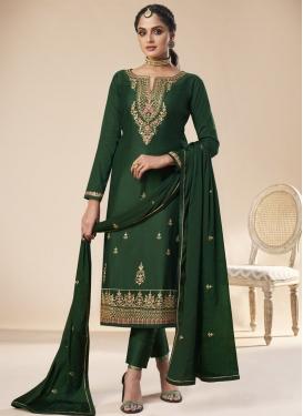 Jam Silk Pant Style Pakistani Salwar Kameez