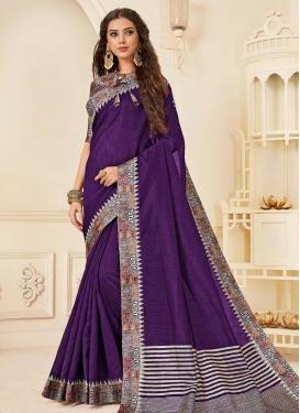 Jute Silk Designer Contemporary Saree