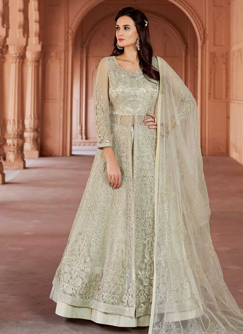 Kameez Style Lehenga Choli For Ceremonial