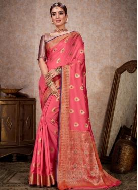 Kanjivaram Silk Contemporary Style Saree