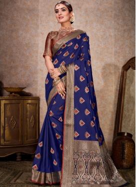 Kanjivaram Silk Trendy Designer Saree