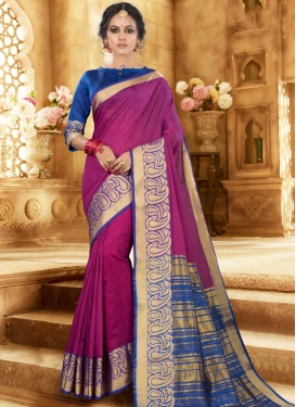 Khadi Silk Designer Traditional Saree