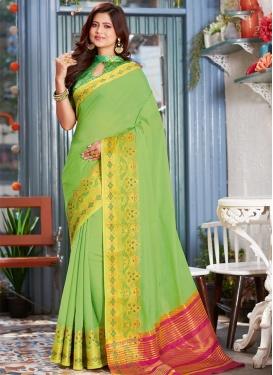 Khadi Silk Traditional Designer Saree