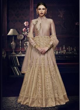 Lace Work Floor Length Anarkali Salwar Suit