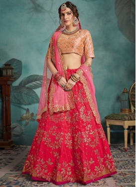 Lace Work Lehenga Choli